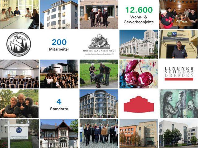 R&M wird 25: Von der Dresdner Hausverwaltung zum mitteldeutschen Komplettdienstleister für Immobilien